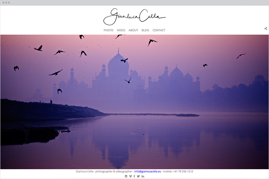 Downtown photography template
