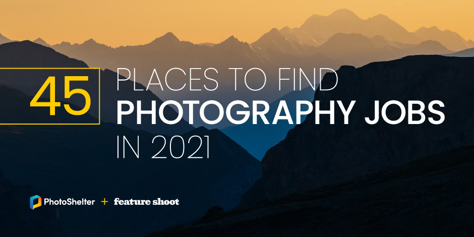 45 Places to Find Photography Jobs in 2021